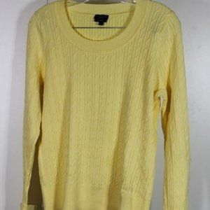 Talbots Yellow Long Sleeve Sweater